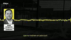 Oriol Junqueras parla de venjança