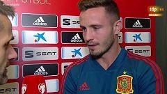 """Saúl Ñíguez: """"El partido ante Suecia va a ser una final"""""""