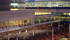El aeropuerto de El Prat, epicentro de la protesta independentista