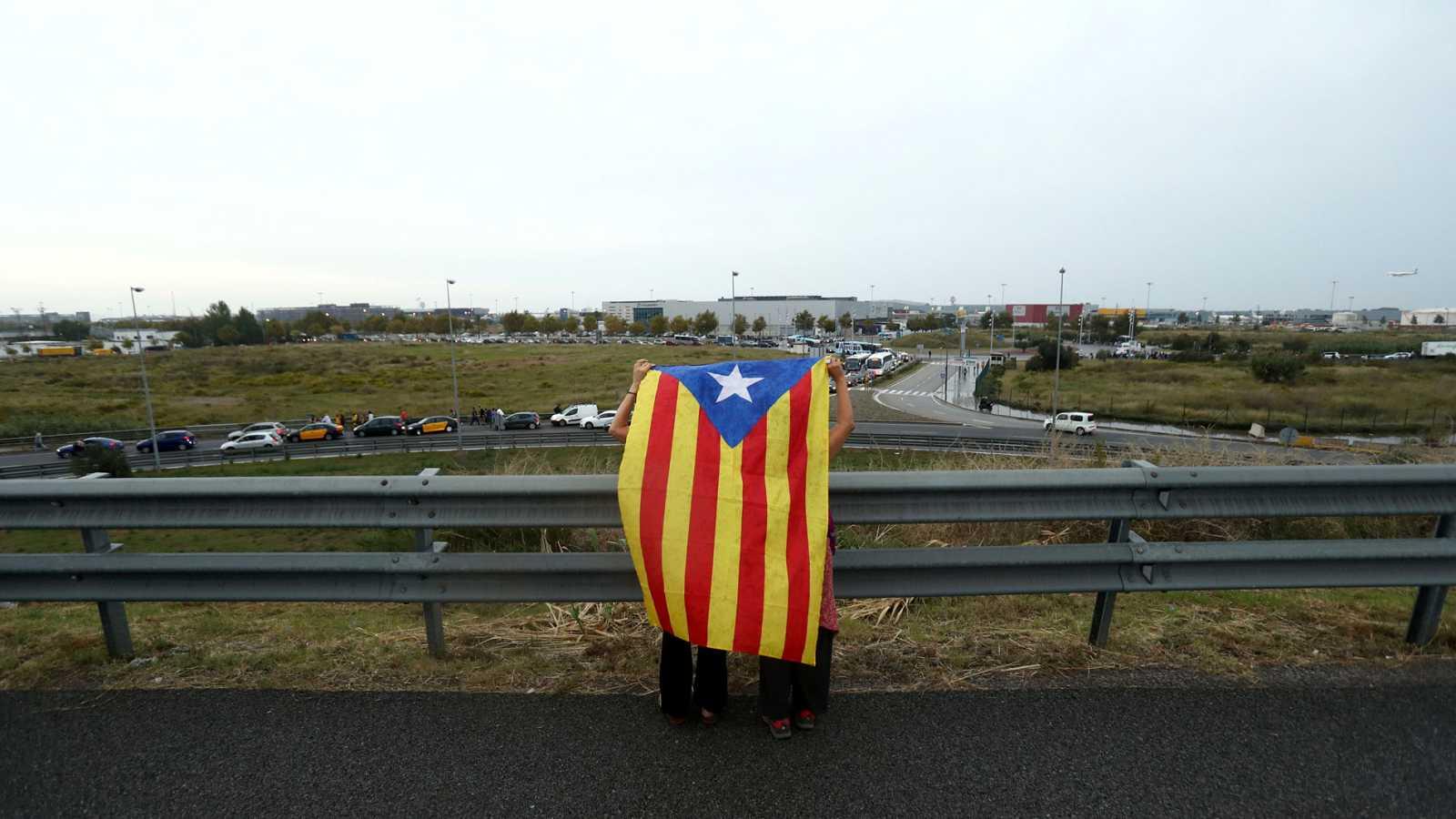 Así se ha vivido la sentencia del 'procés' en distintos lugares de Barcelona