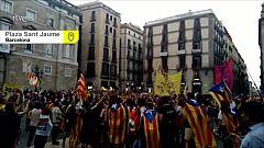 El resumen de las reacciones y protestas a la sentencia del 'procés', en 3 minutos