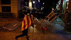 Cargas ante la Jefatura Superior de Policía de Barcelona