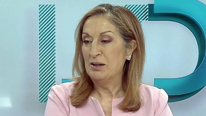 """Ana Pastor asegura que """"la inmensa mayoría de la sociedad catalana"""" está """"hasta el gorro de los políticos"""""""