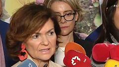 """Carmen Calvo, sobre el indulto: """"No hay ningún tipo de excepción"""""""