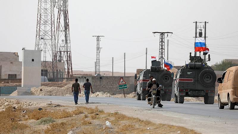Las tropas sirias acuden en auxilio de los kurdos contra Turquía en el norte del país