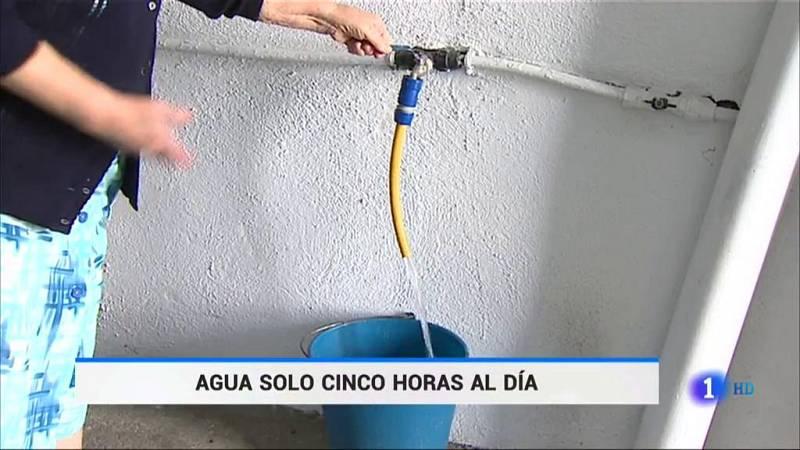 Cortes en el suministro de agua en un pueblo de Badajoz por la falta de lluvias