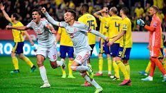 Resumen y goles del Suecia 1-1 España
