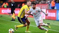 Fútbol - Selección absoluta clasificatorio EUROCOPA 2020: Suecia - España