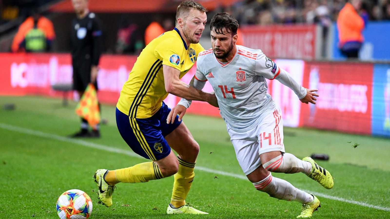 Fútbol - Selección absoluta clasificatorio EUROCOPA 2020: Suecia - España - ver ahora