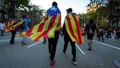 """El independentismo se moviliza con cinco """"Marchas por la libertad"""" contra la sentencia"""