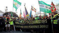 La mañana - Los pensionistas se concentran en la Puerta del Sol