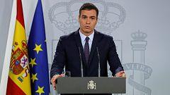 Sánchez se reunirá con Casado, Rivera e Iglesias por la situación de violencia en Cataluña