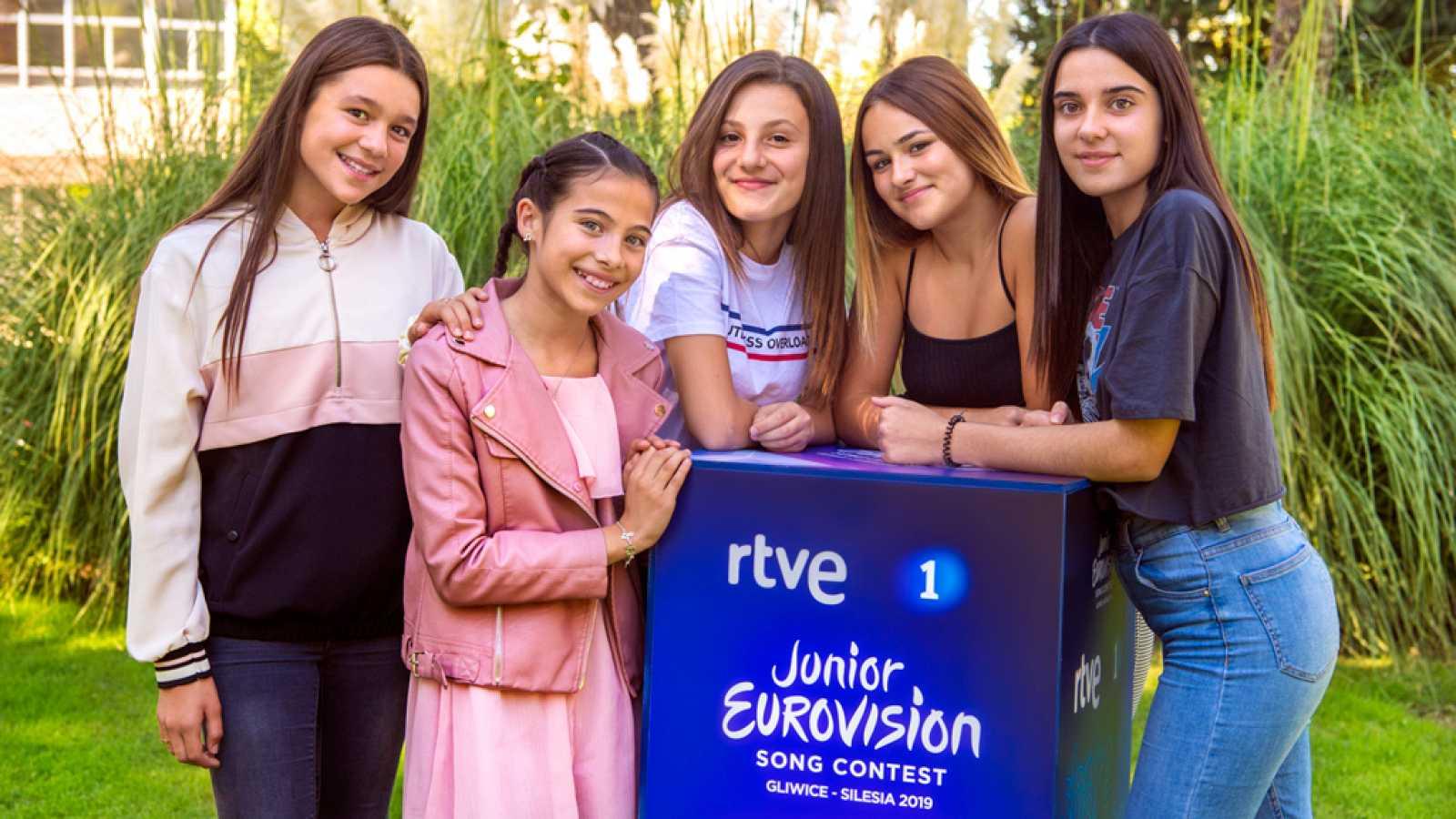 Melani se subirá al escenario de Eurovisión Junior con sus cuatro coristas