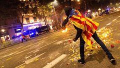 Respuesta tibia del Govern a los altercados del martes en Barcelona
