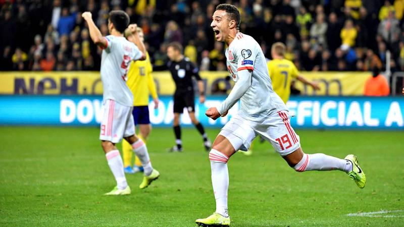 La selección española ya está en la fase final de la Eurocopa 2020. El empate ante Suecia (1-1) ha certificado lo que se presumía que tenía que llegar en cualquierda de los partidos restantes.