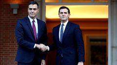 Rivera pide a Sánchez el cese de Torra