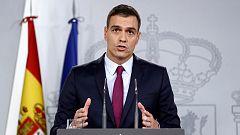 """Sánchez """"modulará"""" su respuesta en función de """"la actitud y las decisiones"""" de los responsables políticos catalanes"""