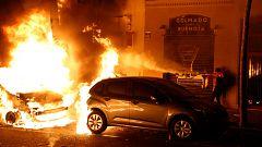 Nueva noche de incidentes violentos en Barcelona