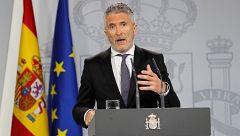 """Marlaska sobre Cataluña: """"El daño es grande y tiene unos responsables que lo han alentado"""""""