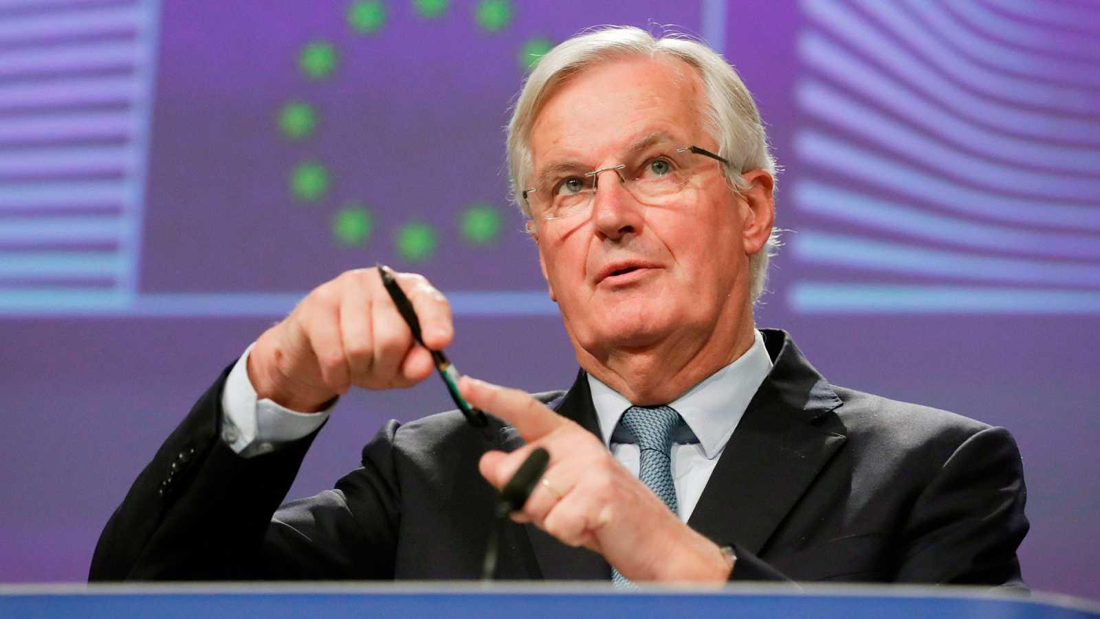 """Barnier anuncia un acuerdo con el Reino Unido para una """"salida ordenada"""" de la Unión Europea"""