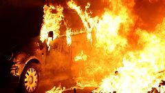 46 detenidos y disturbios más intensos, en la tercera jornada de protestas en Barcelona