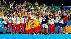 La selección española de fútbol playa, oro en los Juegos Mundiales de la Arena