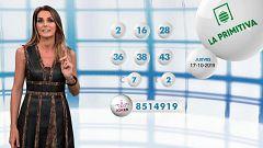 Lotería Nacional + La Primitiva + Bonoloto - 17/10/19