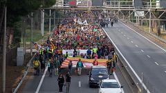 Avance informativo - Huelga independentista en Cataluña - 18/10/19 (1)