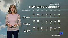 El tiempo de Extremadura - 18/10/19