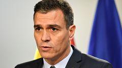 """Sánchez acusa a Torra de """"banalizar"""" la violencia"""