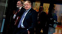 Johnson busca contra reloj apoyos al acuerdo con Bruselas horas antes de la votación en el Parlamento