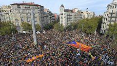 Avance informativo - Huelga independentista en Cataluña - 18/10/19 (2)