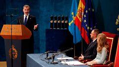 Discurso completo del rey en los Premios Princesa de Asturias