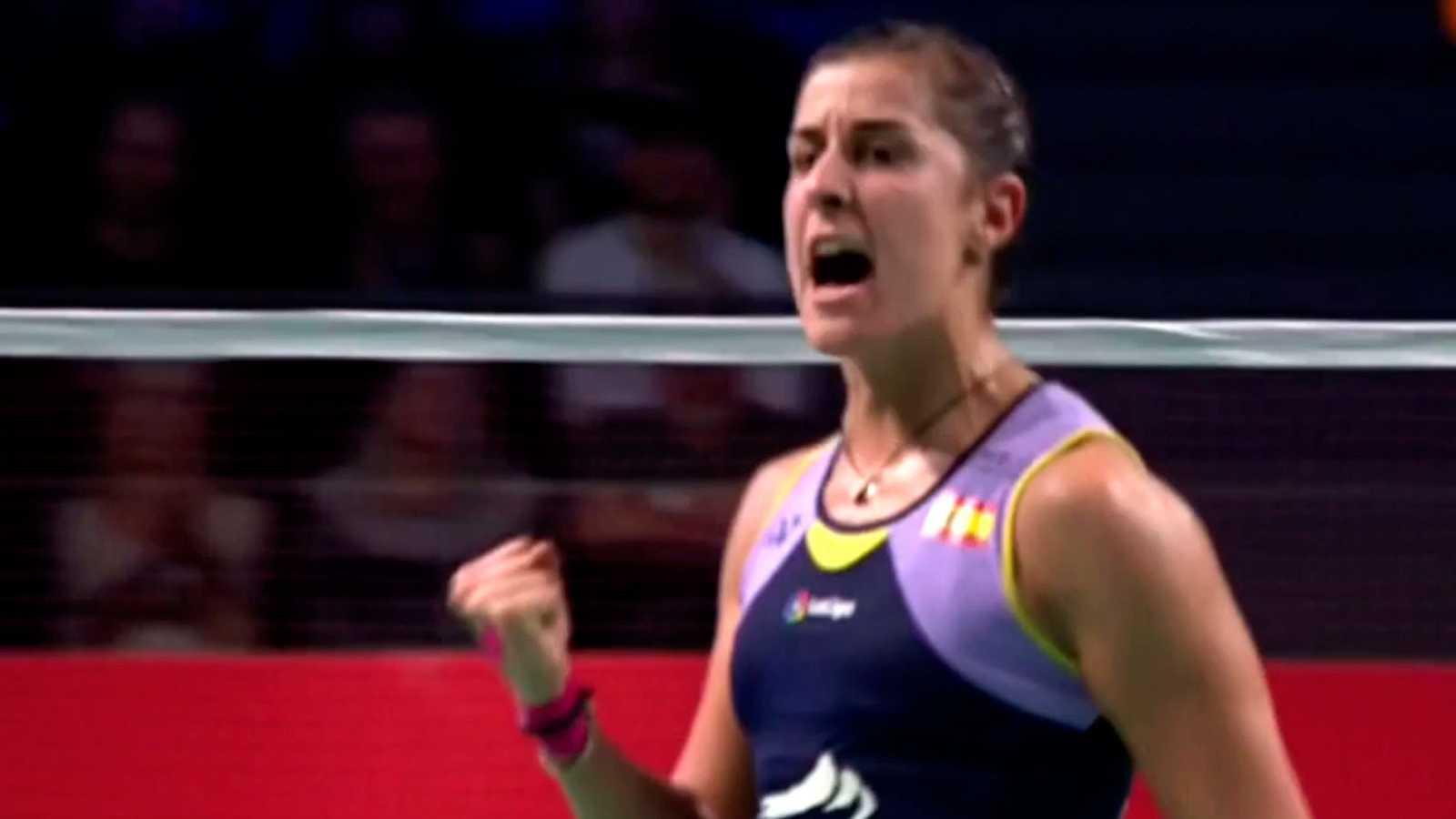 Carolina Marín pasa a semifinales en el Abierto de Dinamarca