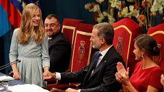 Premios Princesa de Asturias 2019 - Lengua de signos