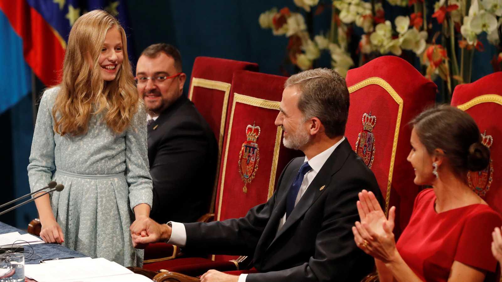 Resultado de imagen de foto princesa de asturias