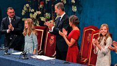 """La princesa Leonor se compromete a """"servir a España"""" con entrega y esfuerzo"""
