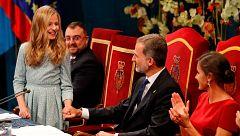 El rey centra su discurso en la princesa Leonor y elude cualquier referencia a Cataluña