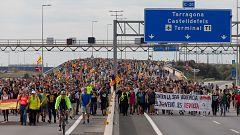 La huelga general en Cataluña afecta sobre todo a la movilidad