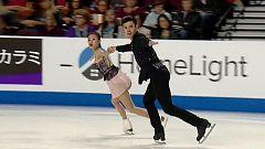 Patinaje artístico - Skate América. Programa corto parejas