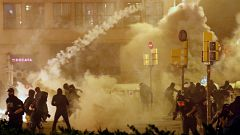 La noche en 24 horas - Especial disturbios en Cataluña - 18/10/19