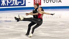 Patinaje artístico - Skate América. Programa corto de Danza. Desde Las Vegas (EEUU)