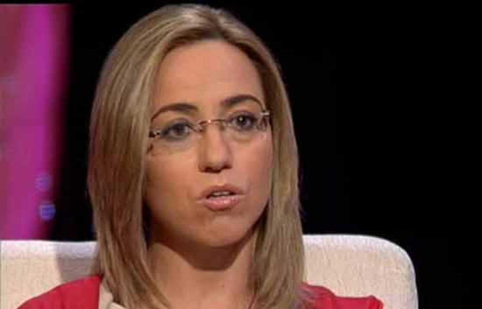 Entrevista a la ministra de Defensa Carme Chacón