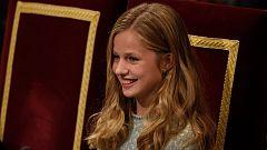 Corazón - El primer discurso de la princesa Leonor en los Premios