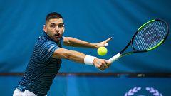 Tenis - ATP 250 Torneo Estocolmo. 1ª Semifinal: Krajinovlc - Carreño Busta