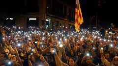 Sexto día de protestas en Barcelona por la sentenciad del 'procés', sin incidentes