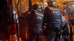 Dos heridos en los disturbios en Cataluña en estado muy grave, uno de ellos el policía que recibió una pedrada el viernes