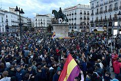 """Un detenido y 13 heridos en Madrid tras la marcha por la """"amnistía de todos los presos políticos"""""""