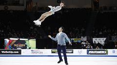 Patinaje artístico - Skate América. Programa libre parejas