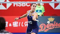 Bádminton - Open de Dinamarca, Semifinal: Carolina Marín - Nozomi Okuhara